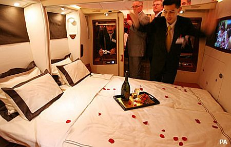 Singapore Airlines' Airbus A380 Luxury Suite