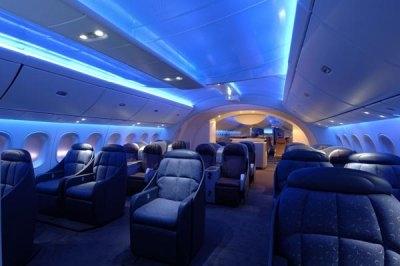 Moreha tekor akhe dreamliner interior pictures for Interior 787 dreamliner