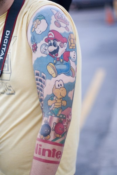 Nintendo Tattoo. New to The Technonaut? Consider subscribing to our RSS feed